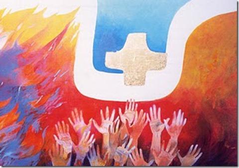 Arcabas Pentecôte