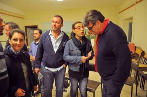 Noi cristiani LGBT di Kairos nella parrocchia di Vicofaro a Pistoia il 24 ottobre 2015 (Foto Acerboni/Castellani)