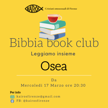 bibbia book club profeta osea